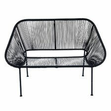 Mallory Metal Entryway Bench by Bungalow Rose