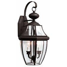 2-Light Outdoor Wall Lantern