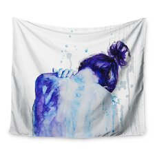 Blue by Cecilia Burgues Wall Tapestry