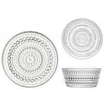 Kastehelmi 6 Piece Dinnerware Set, Service for 2