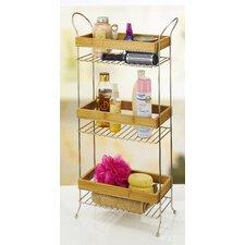 12.8 W x 28 H Bathroom Shelf by Laura Ashley Home