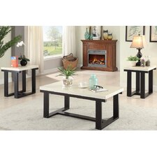El Dorado 3 Piece Coffee Table Set