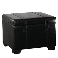 Parnassus Leather Storage Ottoman by Alcott Hill