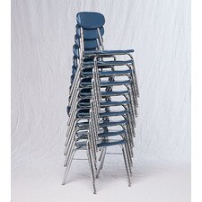 Super Armless Steel Stacking Classroom Chair