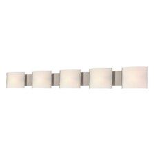 5-Light Bath Bar
