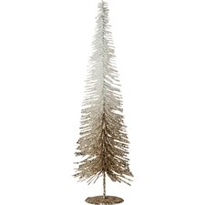 "25"" Champagne/White Fir Artificial Christmas Tree with Stand"