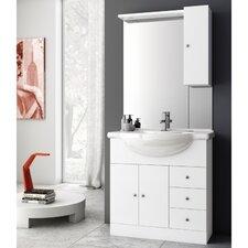 London 34 Single Bathroom Vanity Set with Mirror by ACF Bathroom Vanities