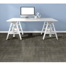 "Nexus 12"" x 12"" x 1.2mm Vinyl Tile in Gray (Set of 20)"