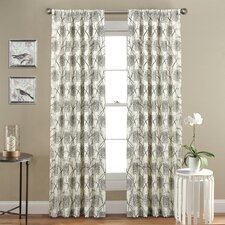 Oxford Single Curtain Panel