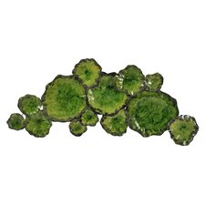 Green Lily Pad Wall Décor