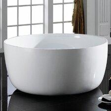 Vale 53.19 x 53.19 Freestanding Bathtub by Maykke