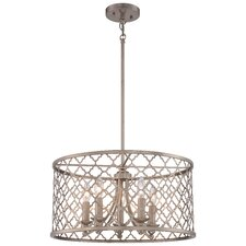 Govinda 5-Light Drum Chandelier