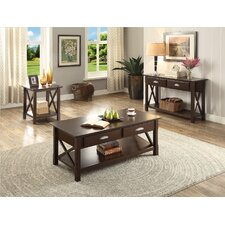 Frigate 3 Piece Coffee Table Set by A&J Homes Studio