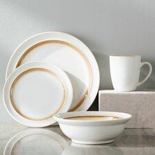 Gingko 16 Piece Dinnerware Set, Service for 4