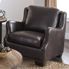 Vicar Club Chair by Lazzaro Leather