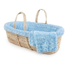 Twisted Fur Moses Basket