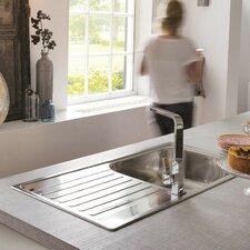 100cm x 50cm Inset Kitchen Sink
