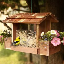 Cedar Planter Hopper Bird Feeder