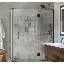 Unidoor-X 59.5 x 30.38 x 72 Rectangle Hinged Shower Enclosure by DreamLine