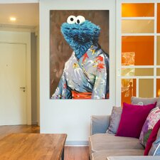 'Kimono Monster' Painting Print on Wrapped Canvas