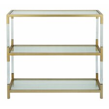 Metal Acrylic 36 Standard Bookcase by Cole & Grey