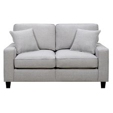"Lonnie 61"" Track Arm Loveseat"