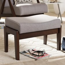 Enrico Mid-Century Modern Ottoman by Wholesale Interiors