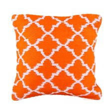 World Outdoor Throw Pillow by Fab Habitat