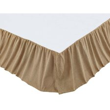 Griswold Burlap Ruffled Bed Skirt