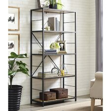"""Ardoch Metal and Wood 63"""" Etagere"""