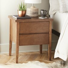 Lysistrate 2 Drawer Side Table