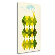 'Elegant Forest' Graphic Art Print on Wrapped Canvas