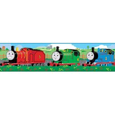 "Thomas and Friends 15' x 5"" Scenic Border Wallpaper"