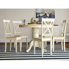 Bartett Extendable Dining Set with 6 Chairs