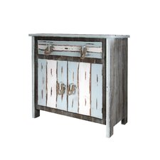 Hallowell 2 Door 1 Drawer Accent Cabinet by Beachcrest Home