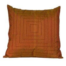 Pyramide Silk Throw Pillow