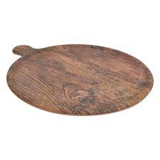 Melamine Rustic Wood Pizza Platter