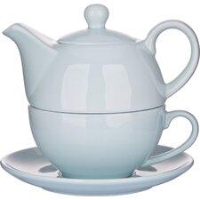 3 Pieces Porcelain Teapot Set