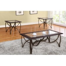 Assante 3 Piece Coffee Table Set by Red Barrel Studio
