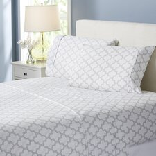 Wayfair Basics Trellis 4 Piece Sheet Set