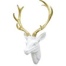 Resin Deer Head Wall Décor