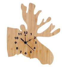 Northwood's Moose Wall Clock