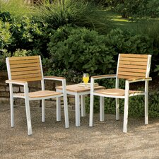 Lena 3 Piece Lounge Seating Group