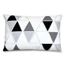 Triangle Linen Lumbar Pillow