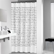 Sayings Vinyl Shower Curtain