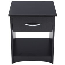 1 Drawer Nightstand by Adeco Trading