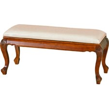 Lacey Wood Bedroom Bench by Astoria Grand