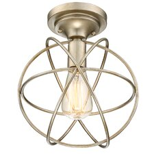 Irwindale 1-Light Semi Flush Mount