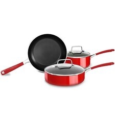 5 Piece Non-Stick Aluminum Cookware Set