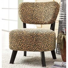 Ansel Rounded Seat Slipper Chair by World Menagerie